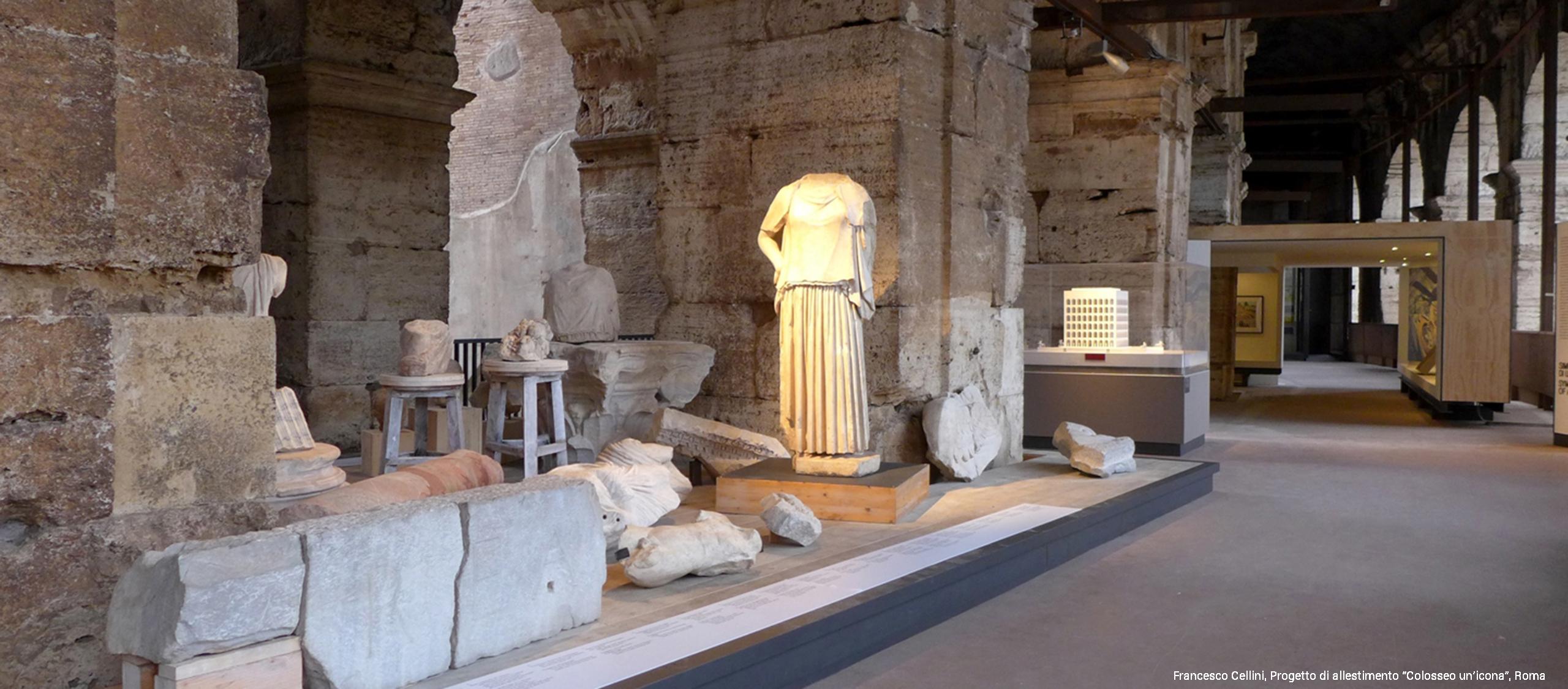 """Progetto di allestimento """"Colosseo un'icona"""", Roma"""